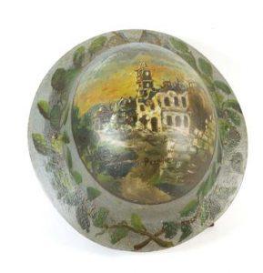 Casque Brodie Peint - Collection Historial de la Grande Guerre
