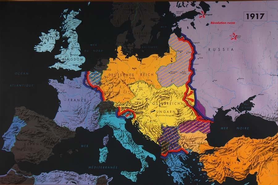 007 l'europe en 1917