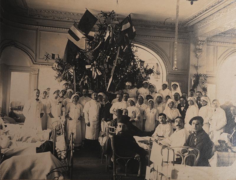 Arbre de Noël 1914