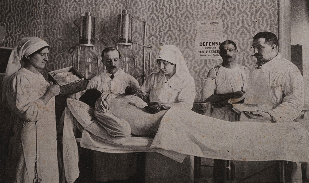 Salle de pansements